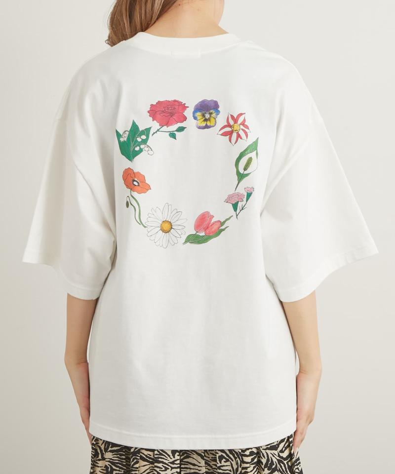 【AIKA HIRANO×Lui's FEMME】flowercircle