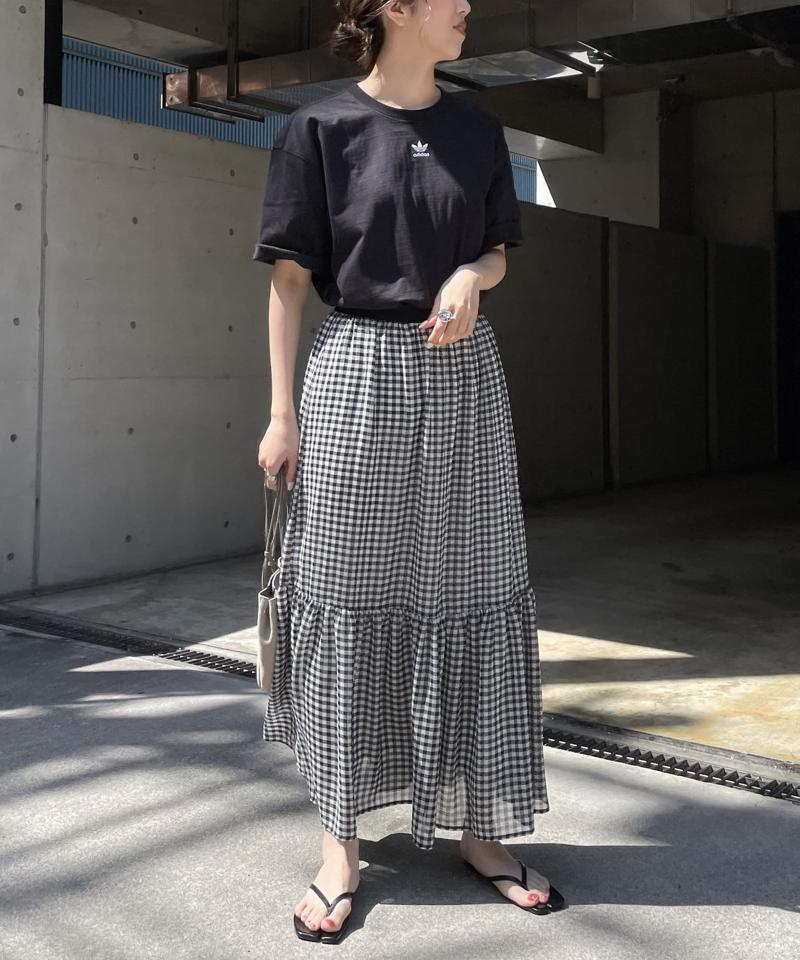 〈WEB限定〉【adidas/アディダス】トレフォイルTシャツ