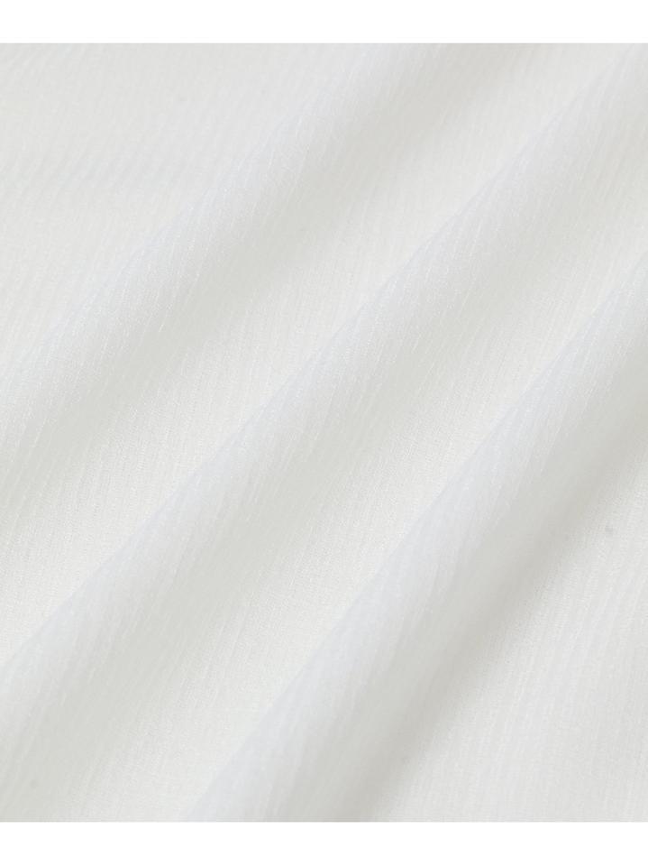 <洗える>シアーリブカーディガン