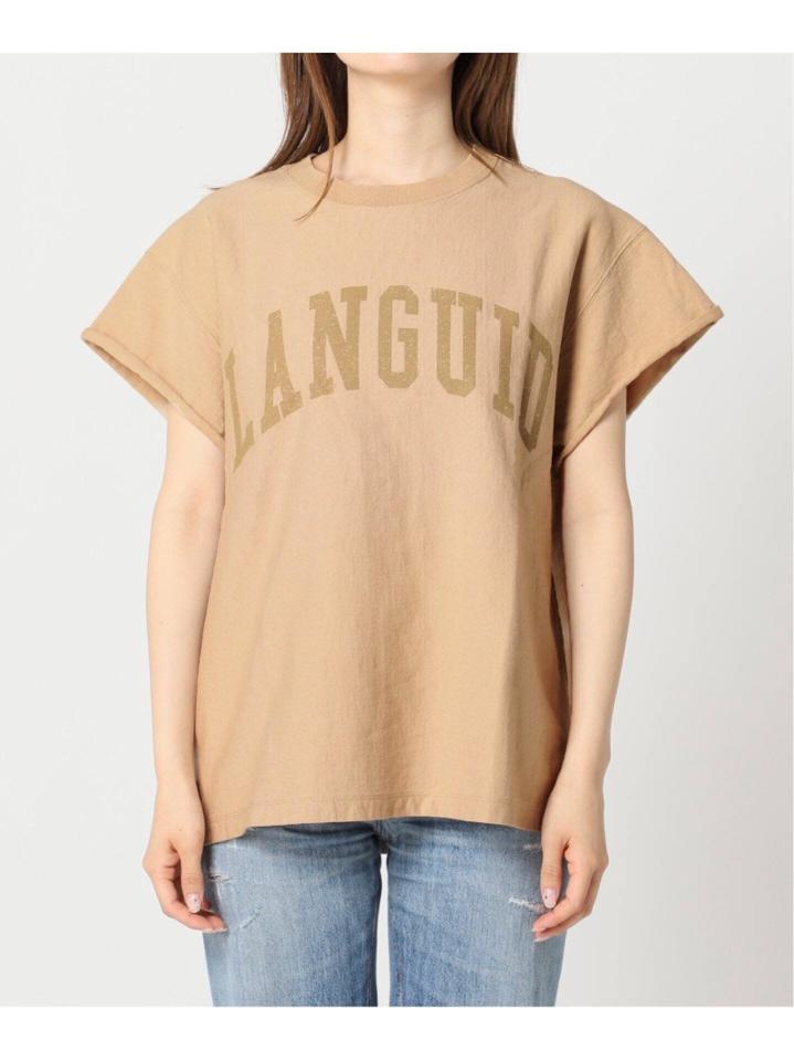 cut off logo Tシャツ◆