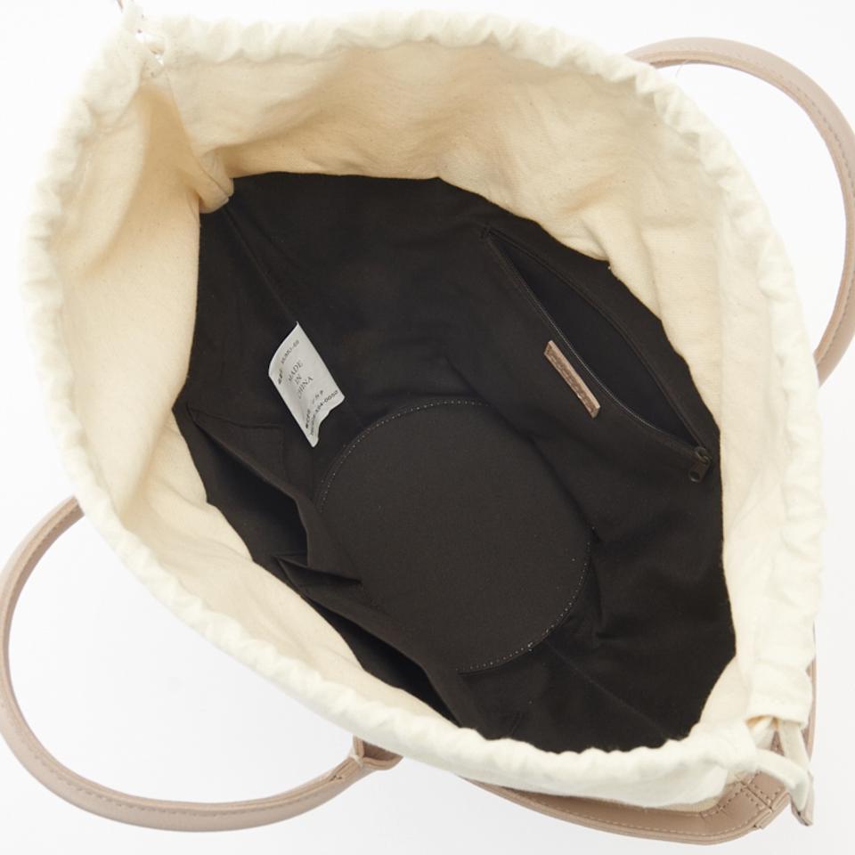 編み込み扇型バッグ(MUMU)