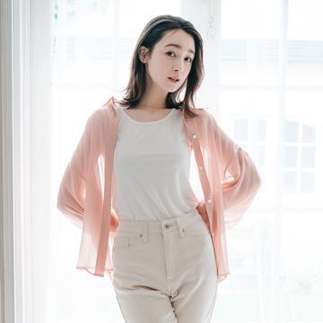 レディース シアーシャツ+インナーセット(藤井サチ)
