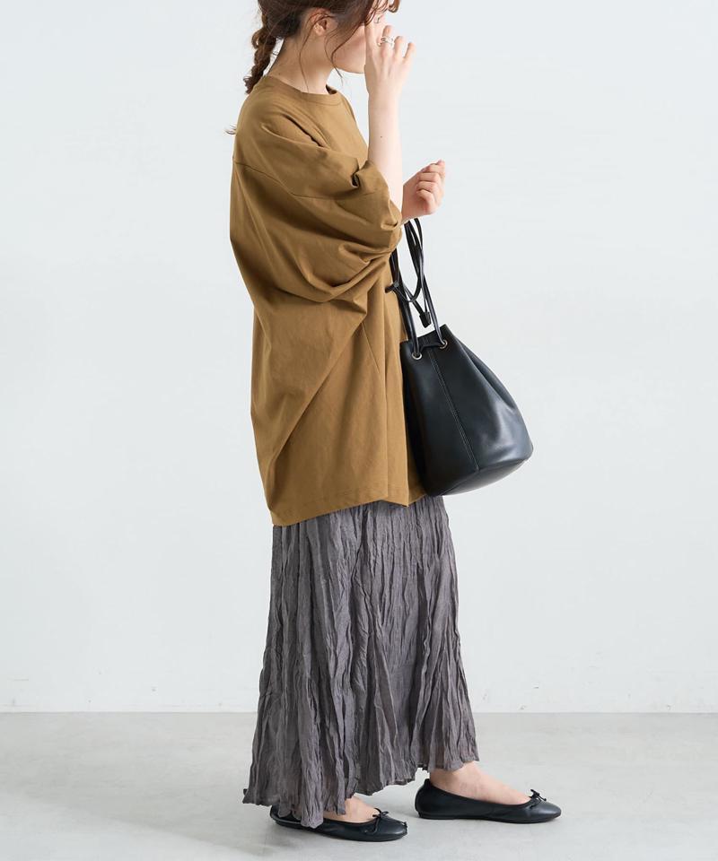 【Du noir】ワッシャー加工スカート