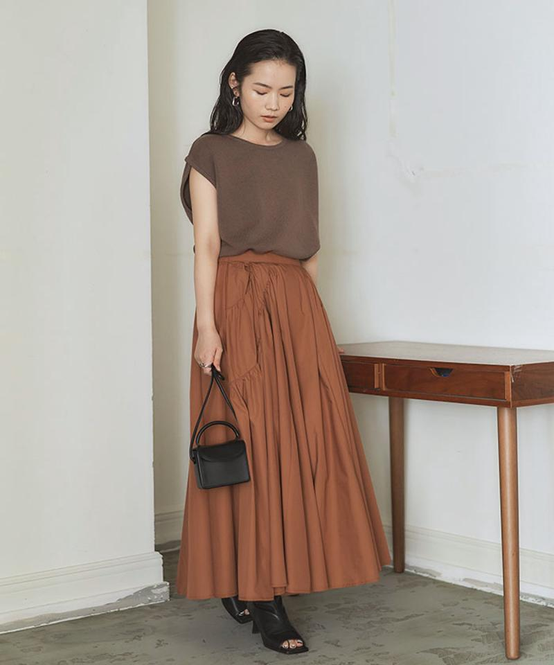 ボリュームギャザースカート〔人気商品!予約〕