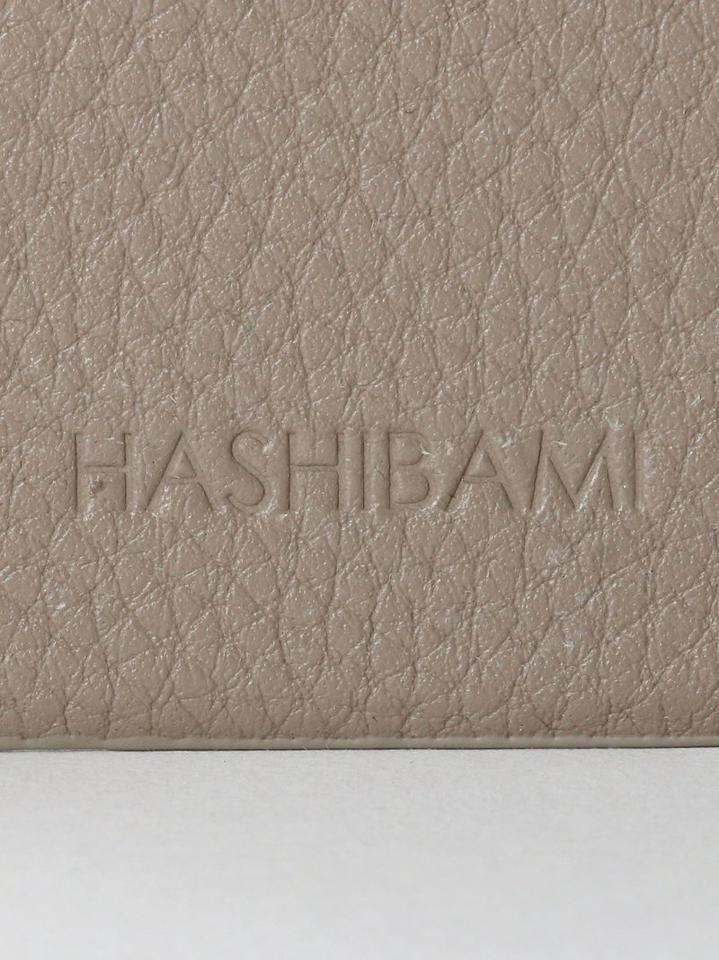 【WEB限定】【別注】<Hashibami>レザー ストーンリング iPhone12/12Proケース -2WAY-