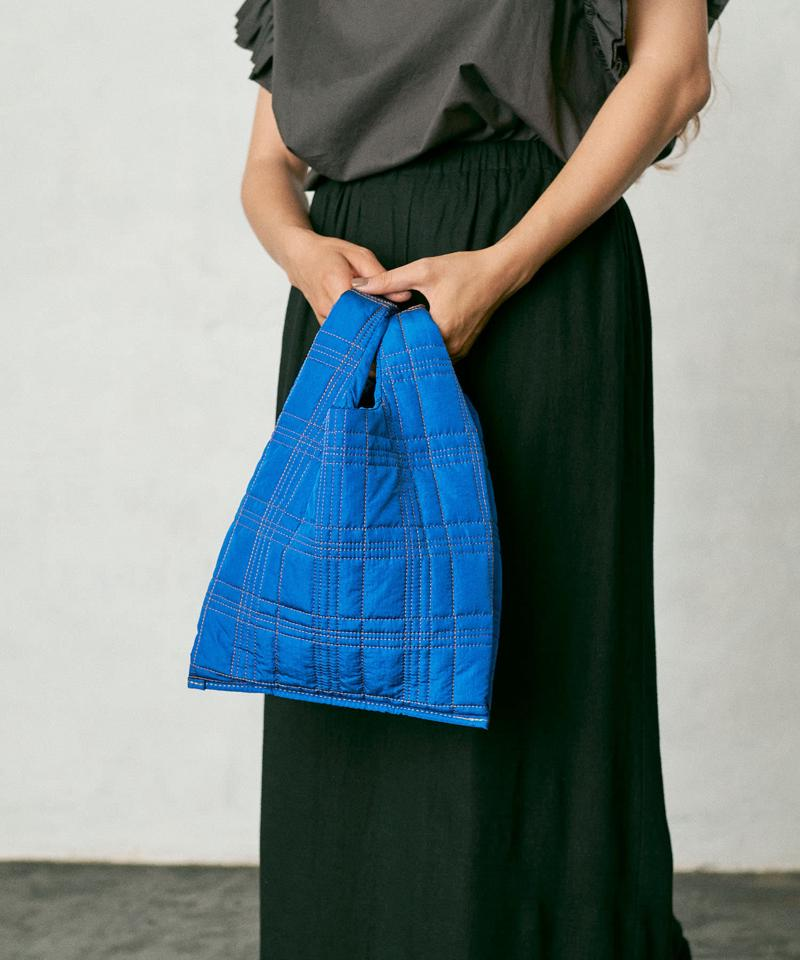 QUILTING CHECK MARCHE BAG