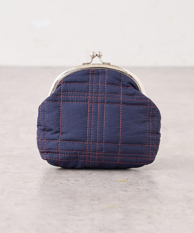 QUILTING CHECK PURSE
