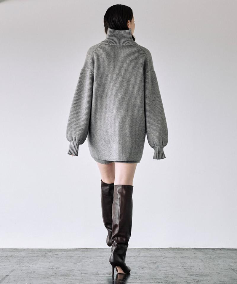 ハーフZIPワイドスリーブプルオーバー【オンラインストア限定商品】