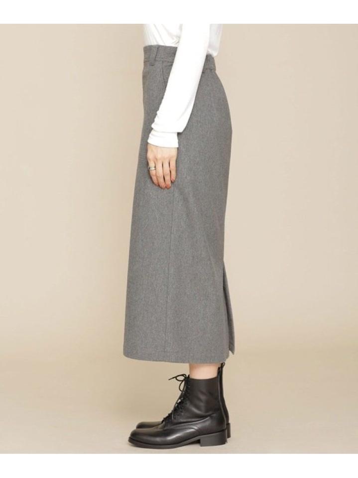 NUWONDER Aラインポケットスカート