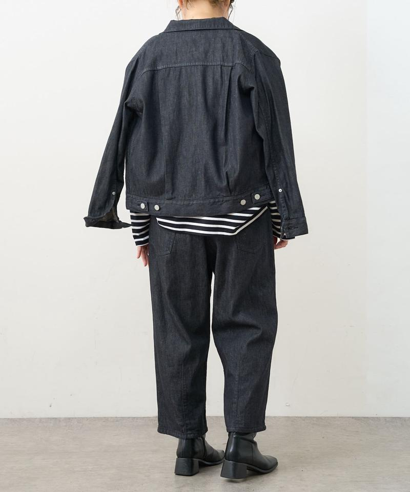 【Du noir】JAPAN MADEデニムバルーンパンツ