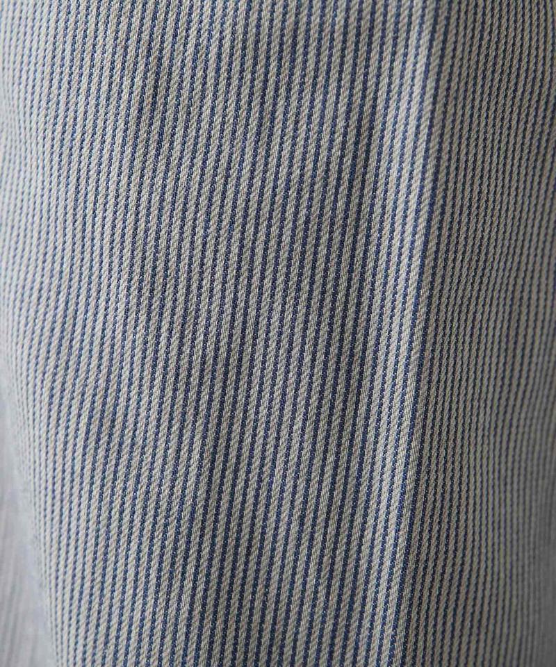 綿ヘンプヒッコリーパンツ