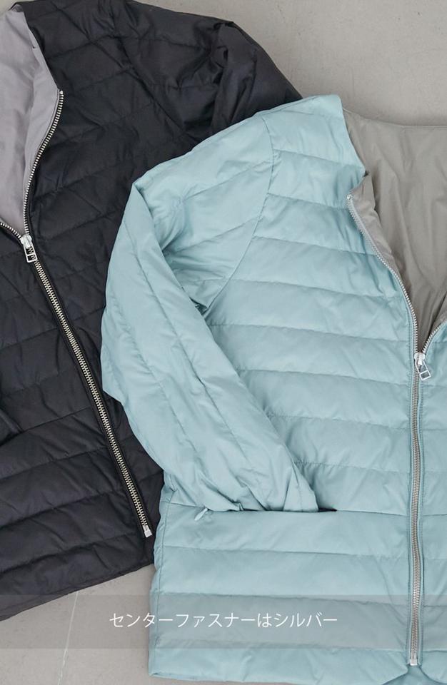 [kuih割 10/20 14時まで10%off] ★newデザイン&5colors! 再発売 / 軽量ダウンエッジステッチジャケット
